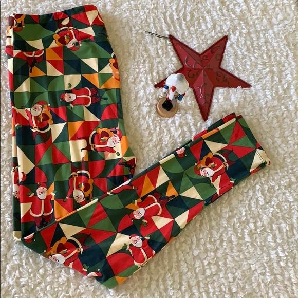 Lularoe Christmas Leggings 2020 Tc LuLaRoe Other   Christmas Tc Leggings   Poshmark